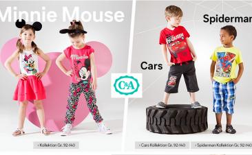 Детские товары на C&A